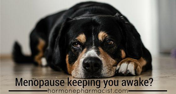Menopause Keeping You Awake?
